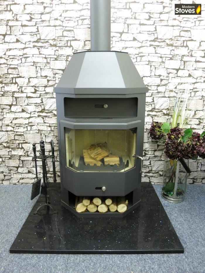 titan wood burning multi fuel stove