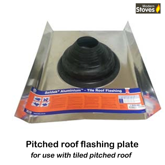 pitched roof flashing plate