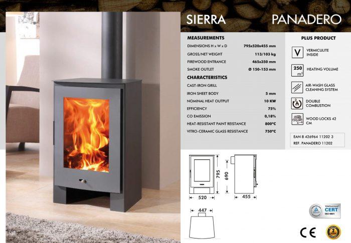 panadero sierra stove