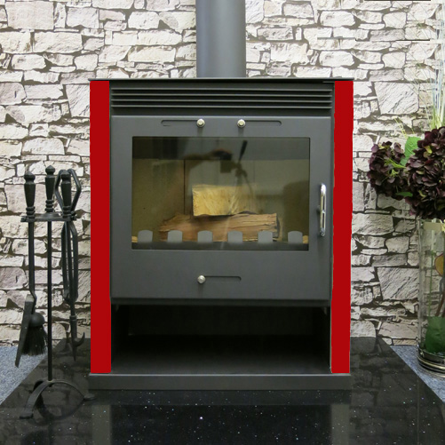 Ruben wood burning multi fuel stove