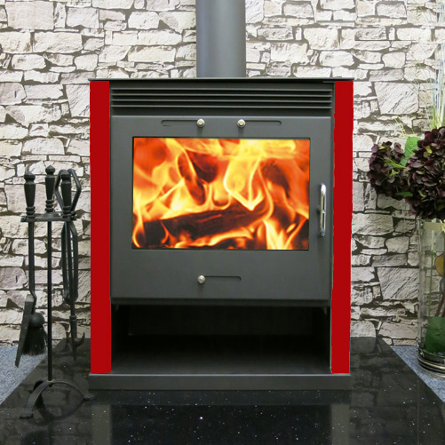 Ruben wood burning multi fuel stove