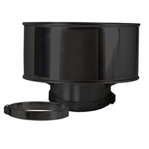anti down draft rain cowl stove