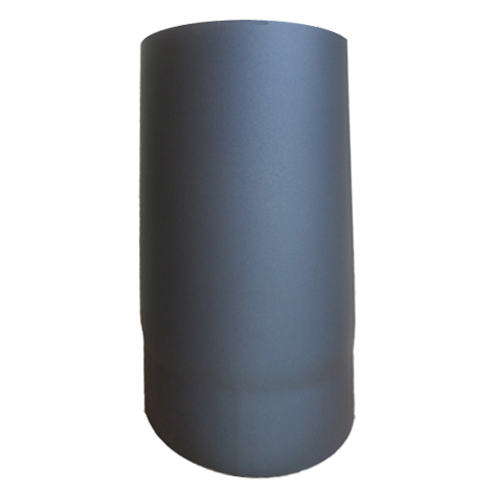 grey flue pipe 250mm 6 inch