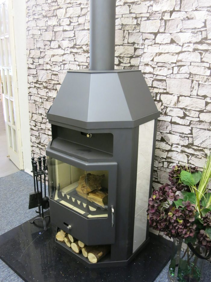Titan back boiler stove for vented or un-vented hot water