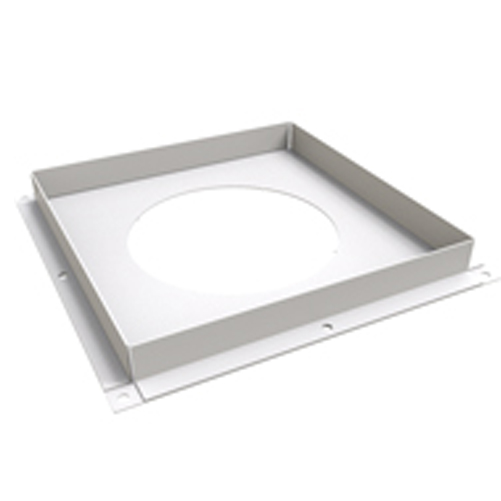 ventilated fire stop plate
