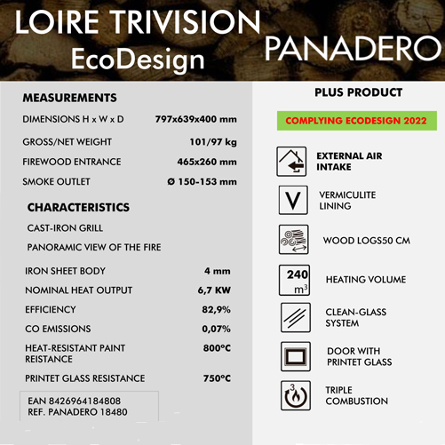 Panadero Loire Tri Vision