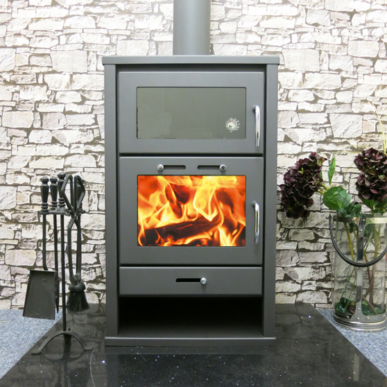 Triumph back boiler cooker stove from modern stoves