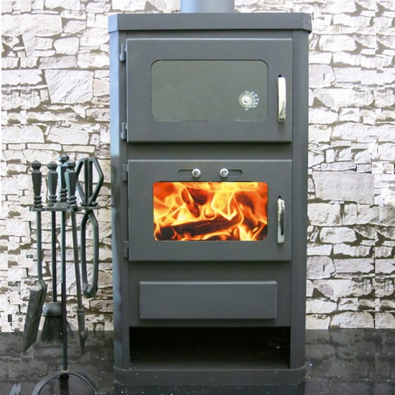 duo cooker wood burning stove with back boiler