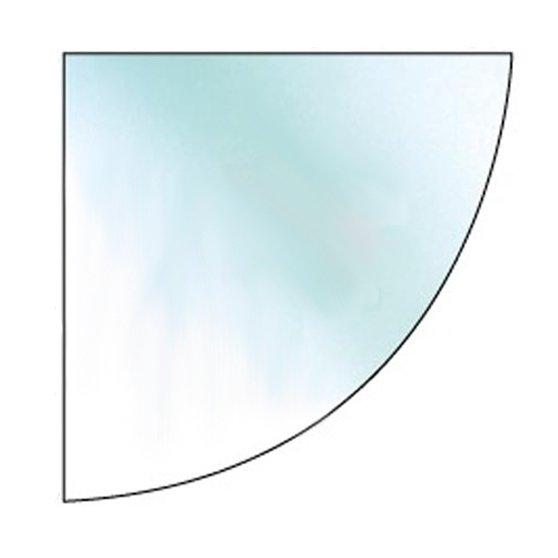 quadrant glass hearth