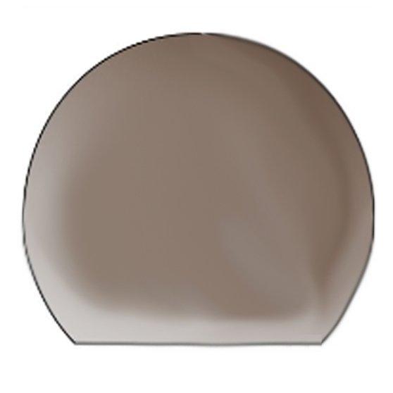 circular glass hearth - circular curved