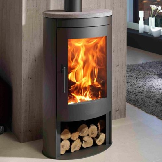 Oval Stone 1 stove