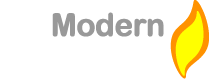 Modern Stoves – Contemporary Multi Fuel Wood Burning Stove Specialist Logo