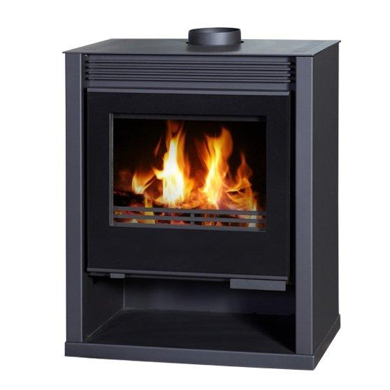 Ruben BLACK wood burning multi fuel stove