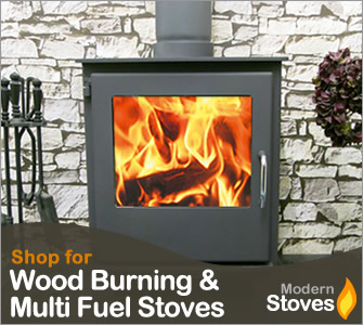 image of a wood burning stove with fire