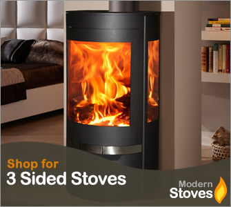 3 sided stove