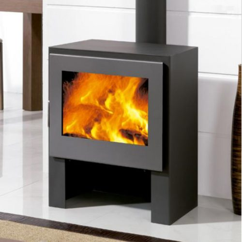 Stoves with Rear Flue Exit