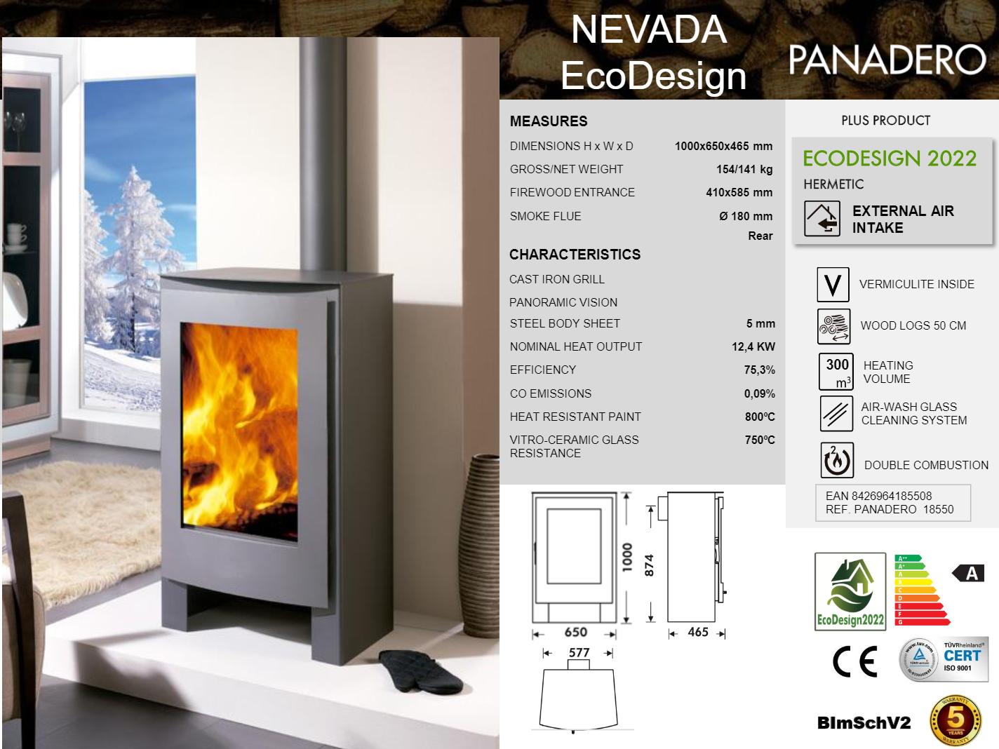 Nevada stove