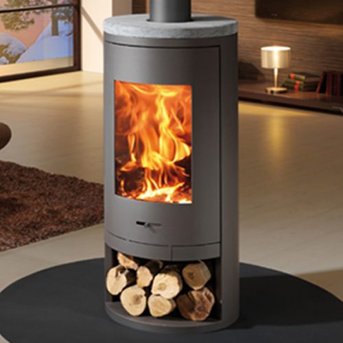 Curved Circular Stoves