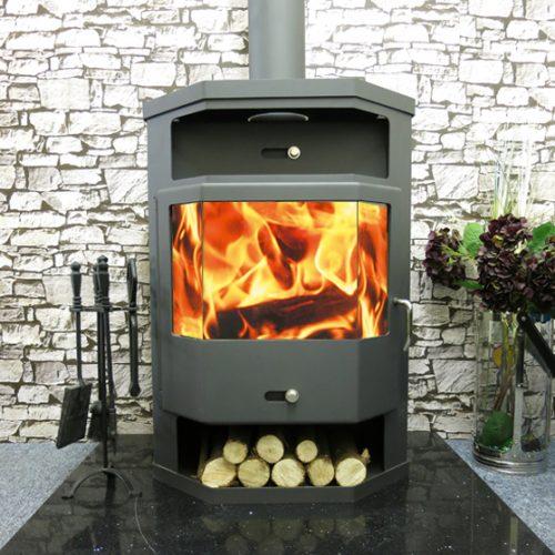 Titan back boiler stove