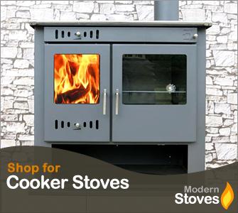 wood burning range cooker stove