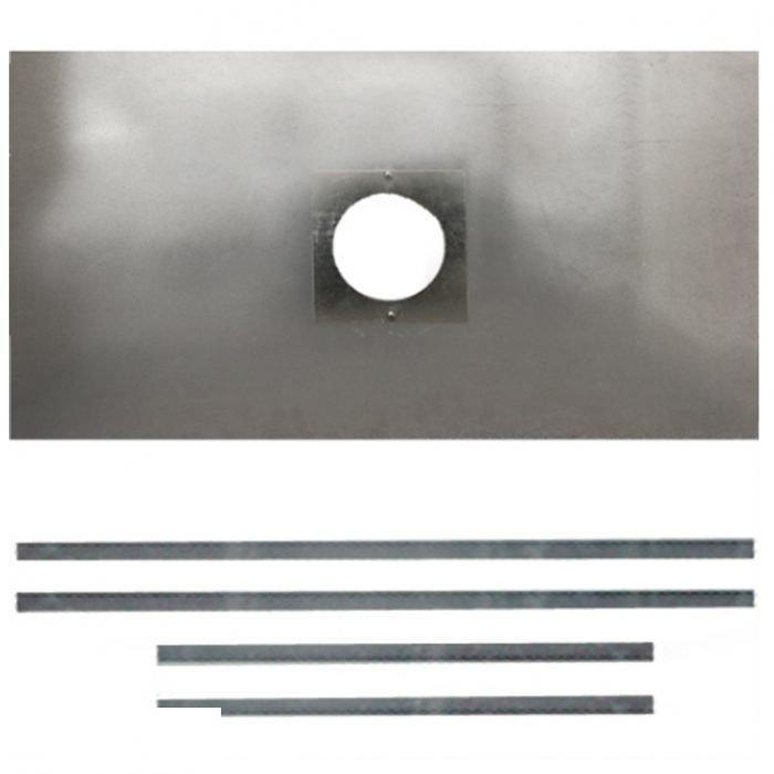 chimney register plate